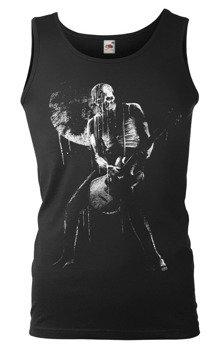 koszulka na ramiączkach SKULL MAN GUITAR PLAYER