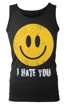 koszulka na ramiączkach SMILEY - I HATE YOU