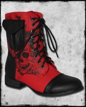 kozaczki IRON FIST - AMERICAN NIGHTRAME COMBAT (RED)
