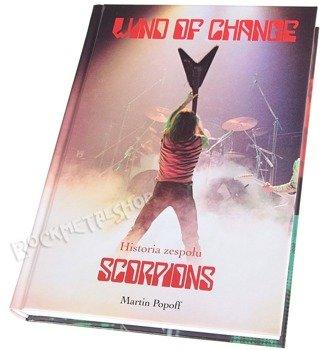 książka SCORPIONS - WIND OF CHANGE, autor: Martin Popoff