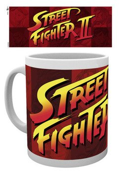 kubek STREET FIGHTER - LOGO