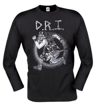 longsleeve DIRTY ROTTEN IMBECILES (D.R.I.) - SKULL