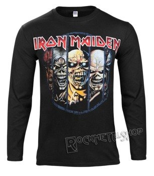 longsleeve IRON MAIDEN - EDDIE EVOLUTION
