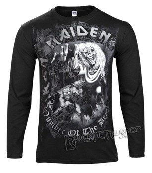 longsleeve IRON MAIDEN - NUMBER OF THE BEAST