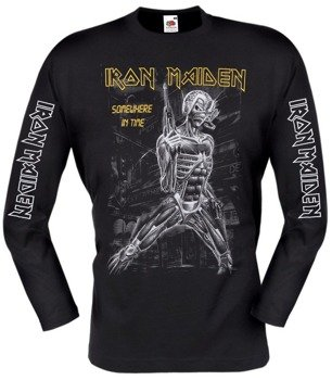 longsleeve IRON MAIDEN - SOMEWHERE IN TIME