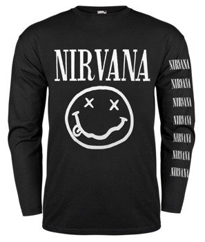 longsleeve NIRVANA - SMILEY