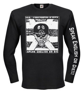 longsleeve S.O.D. - SPEAK ENGLISH OR DIE