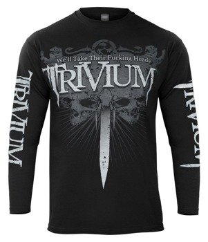 longsleeve TRIVIUM - WE'LL TAKE THEIR FUCKING HEADS