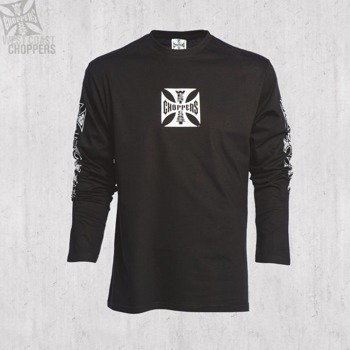 longsleeve WEST COAST CHOPPERS - CROSS