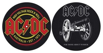 mata gramofonowa slipmata AC/DC - FOR THOSE ABOUT TO ROCK / HIGH VOLTAGE