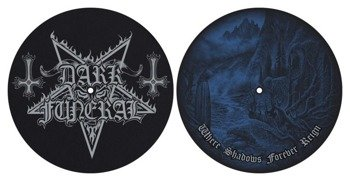 mata gramofonowa slipmata DARK FUNERAL - WHERE SHADOWS FOREVER REIGN