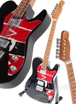 miniaturka gitary COLDPLAY - VIVA LA VIDA TELEC.