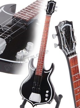 miniaturka gitary KISS - GENE SIMMONS: PUNISHER BASS