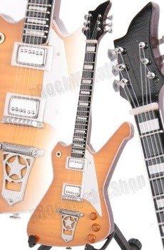 miniaturka gitary KISS - PAUL STANLEY: WAHBURN PS20000CRB (MPA213)