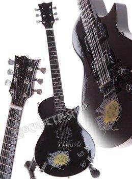 miniaturka gitary METALLICA - KIRK HAMMETT ESP KH 3 SPIDER & SKULL