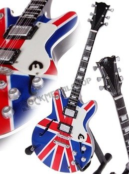 "miniaturka gitary OASIS - NOEL GALLAGHER ""Union Jack"""