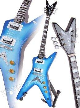miniaturka gitary PANTERA - DIMEBAG DARRELL: DEAN DIME BLUE BURST