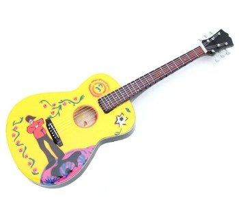 miniaturka gitary THE BEATLES - JOHN LENNON GIBSON YELLOW SUBMARINE (17239COSM)