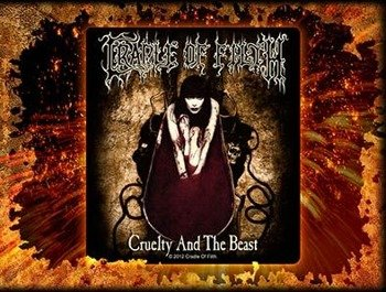 naklejka CRADLE OF FILTH - CRUELTY AND THE BEAST