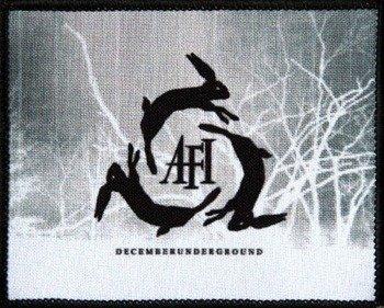 naszywka AFI - DECEMBERUNDERGROUND