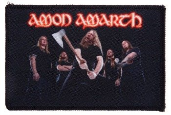 naszywka AMON AMARTH - BAND