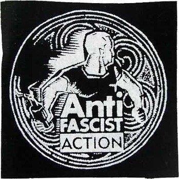 naszywka ANTI FASCIST ACTION