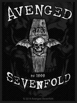 naszywka AVENGED SEVENFOLD - OVERSHADOWED