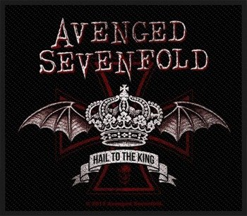 naszywka AVENGED SEVENFOLD - RED CROWN