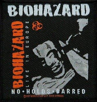 naszywka BIOHAZARD - LIVE IN EUROPE