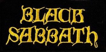 naszywka BLACK SABBATH - LOGO YELLOW