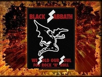 naszywka BLACK SABBATH - SOLD OUR SOULS