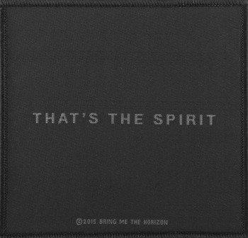 naszywka BRING ME THE HORIZON - THAT'S THE SPIRIT