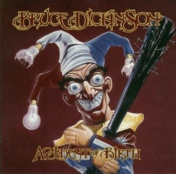 naszywka BRUCE DICKINSON - ACCIDENT OF BIRTH