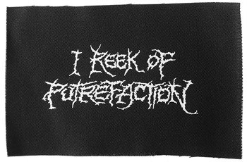 naszywka CARCASS - REEK OF PUTREFACTION