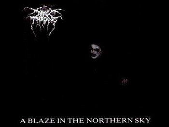 naszywka DARKTHRONE - A BLAZE IN THE NORTHERN SKY