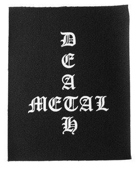 naszywka DEATH METAL - INVERTED CROSS