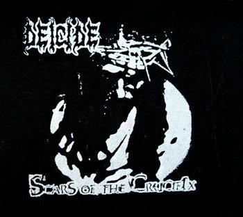 naszywka DEICIDE - SCARS OF THE CRUCIFIX
