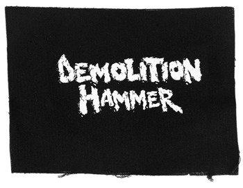 naszywka DEMOLITION HAMMER - LOGO