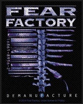 naszywka FEAR FACTORY - DEMANUFACTURE