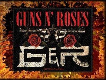 naszywka GUNS N' ROSES - GNR ROSES