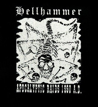 naszywka HELLHAMMER - APOCALYPTIC RAIDS 1990 A.D.