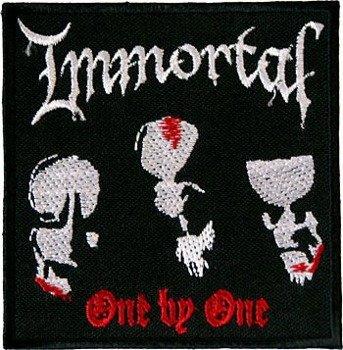 naszywka IMMORTAL - ONE BY ONE