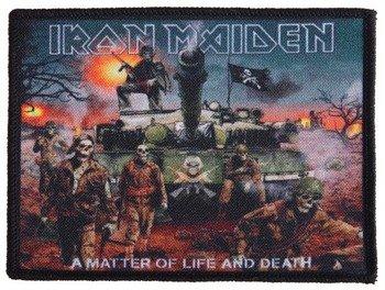 naszywka IRON MAIDEN - A MATTER OF LIFE AND DEATH