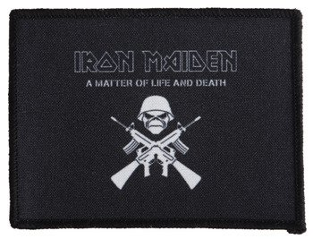 naszywka IRON MAIDEN - A MATTER OF LIFE AND DEATH