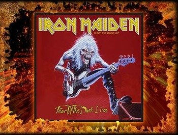 naszywka IRON MAIDEN - FEAR OF THE DARK LIVE