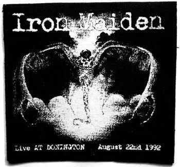 naszywka IRON MAIDEN - LIVE AT DONINGTON