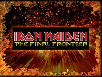 naszywka IRON MAIDEN - THE FINAL FRONTIER