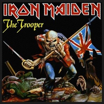 naszywka IRON MAIDEN - THE TROOPER
