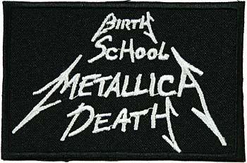 naszywka METALLICA - BIRTH SCHOOL