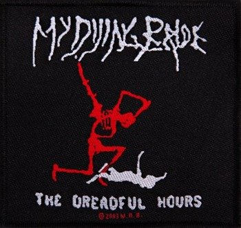 naszywka MY DYING BRIDE - THE DREADFUL HOURS